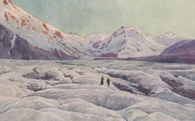 The Tasman Glacier in New Zealand
