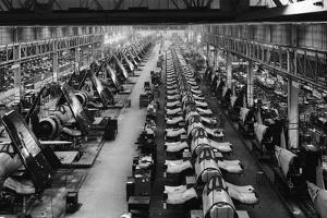 F4U Corsair Production Line