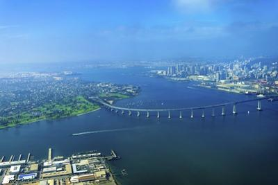 Aerial View of Coronado Island, San Diego by f8grapher