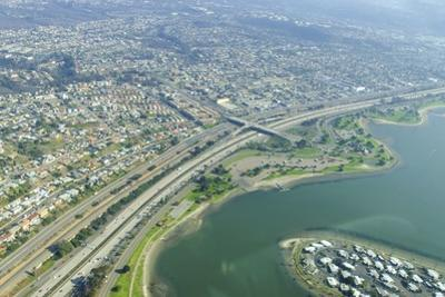 Aerial View of Mission Bay, San Diego by f8grapher