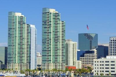 Downtown San Diego, California by f8grapher
