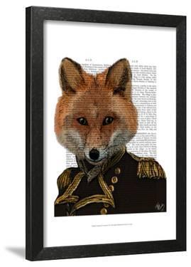 Admiral Fox Portrait by Fab Funky