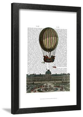 Airship Over City by Fab Funky