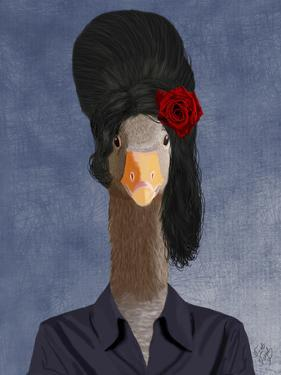 Amy Winehouse Goose by Fab Funky