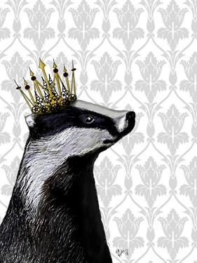 Badger King by Fab Funky