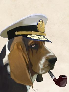 Basset Hound Sea Dog by Fab Funky