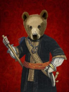 Bear in Blue Robes by Fab Funky