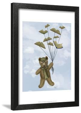 Bear with Book Butterflies by Fab Funky