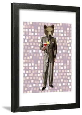 Bear With Cocktail by Fab Funky