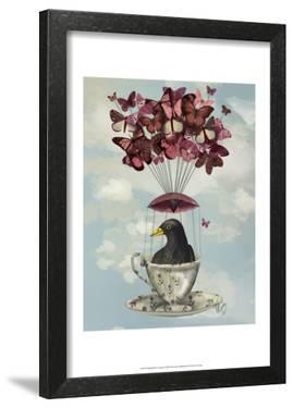 Blackbird In Teacup by Fab Funky