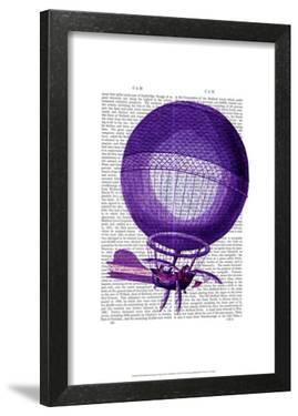 Blanchards Hydrogen (Purple) Hot Air Balloon by Fab Funky