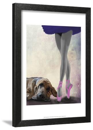 Bloodhound And Ballet Dancer by Fab Funky