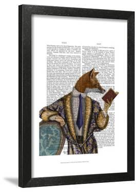 Book Reader Fox by Fab Funky