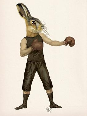 Boxing Hare by Fab Funky
