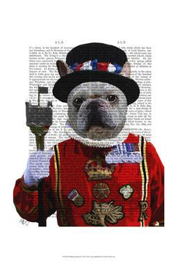 Bulldog Beefeater by Fab Funky