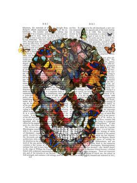 Butterfly Skull by Fab Funky