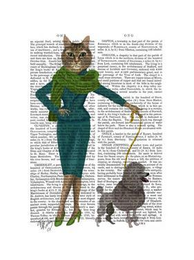 Cat and Poodle by Fab Funky
