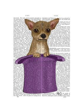 Chihuahua in Top Hat by Fab Funky