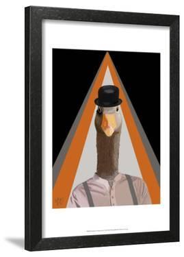 Clockwork Orange Goose by Fab Funky