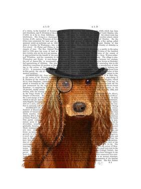 Cocker Spaniel, Formal Hound and Hat by Fab Funky