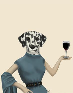 Dalmatian Wine Snob by Fab Funky