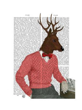 Deer at the Bar by Fab Funky
