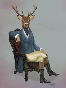 Distinguished Deer Full by Fab Funky