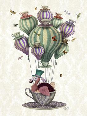 Dodo Balloon with Dragonflies by Fab Funky