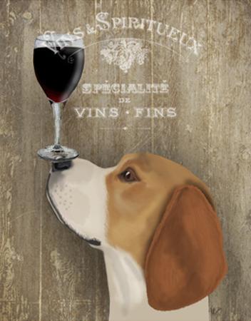 Dog Au Vin Beagle by Fab Funky