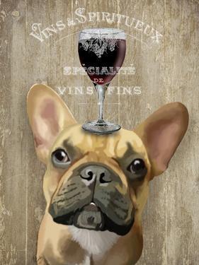 Dog Au Vin, French Bulldog by Fab Funky