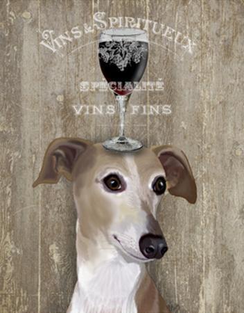 Dog Au Vin Greyhound by Fab Funky