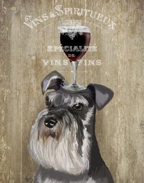 Dog Au Vin, Schnauzer by Fab Funky