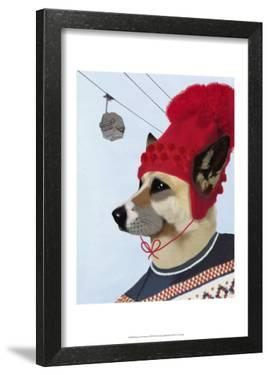 Dog in Ski Sweater by Fab Funky