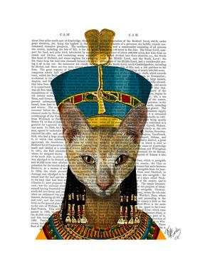 Egyptian Queen Cat by Fab Funky