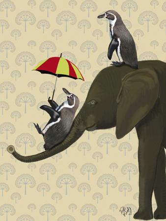 Elephant and Penguins
