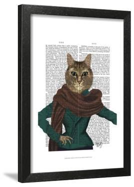 Feline Fashionista by Fab Funky
