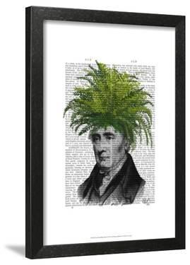 Fern Head Plant Head by Fab Funky