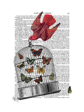 Flying Birdcage by Fab Funky
