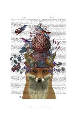 Fox Birdkeeper with Artichoke by Fab Funky