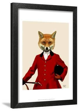 Fox Hunter 2 Portrait by Fab Funky
