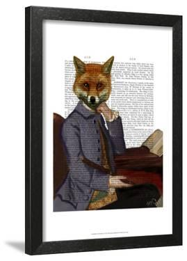 Fox With Flute by Fab Funky