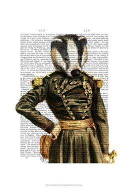 General Badger by Fab Funky