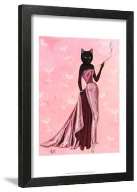 Glamour Cat in Pink by Fab Funky