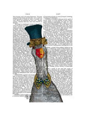 Goose in Blue Hat by Fab Funky