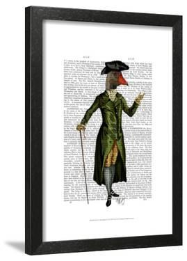 Goose in Green Regency Coat by Fab Funky