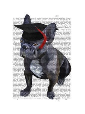 Graduation French Bulldog by Fab Funky