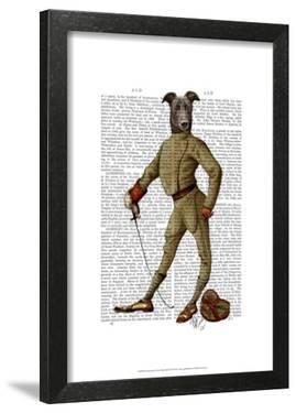 Greyhound Fencer Dark Full by Fab Funky