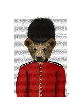 Guardsman Bear by Fab Funky