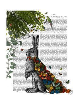 Hare with Butterfly Cloak by Fab Funky