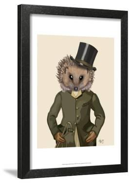 Hedgehog Rider Portrait by Fab Funky